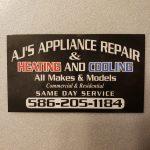 AJ's appliance repair LLC