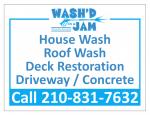 Wash'D In A JAM Pressure Wash