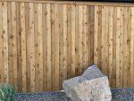Board on Board Wood Privacy Fence Huntsville, AL