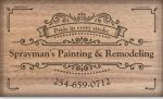 Sprayman's Painting and Remodeling